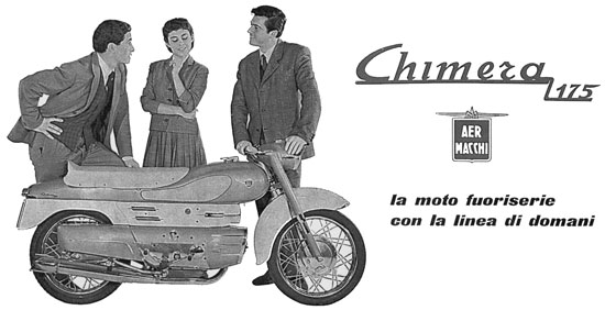 Chimera advertisement 1950s