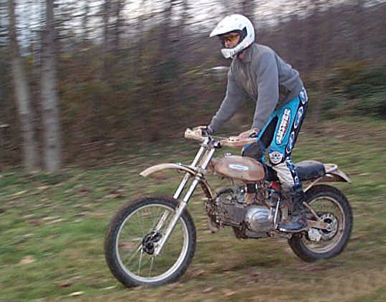 Aermacchi dirt bike