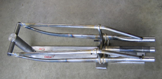 1919 Excelsior Mock-up Front Forks