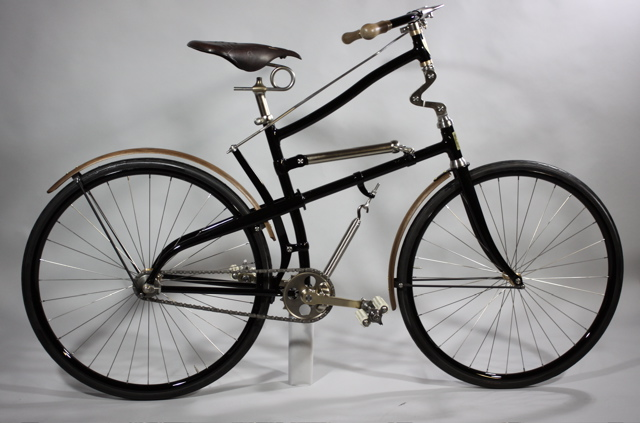 1888 Whippet Replica Full suspension built by Paul Brodie