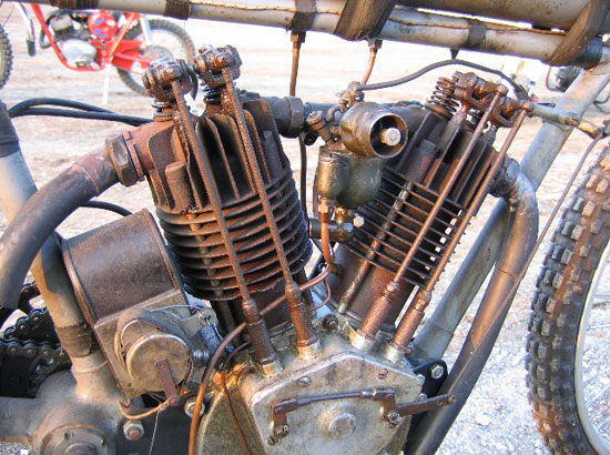 Davenport Iowa Boardtracker motor, 2006