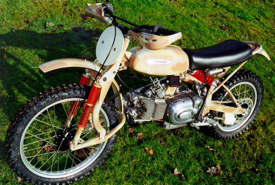 Aermacchi off-road by Paul Brodie
