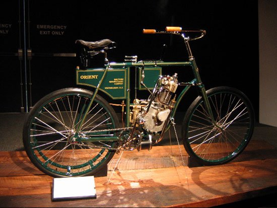 1900 Orient Motor Cycle designed by Paul Brodie, Flashback Fabrications