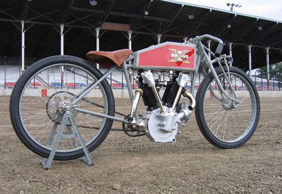 1919 Excelsior Mock-up Race Night, Davenport, Iowa
