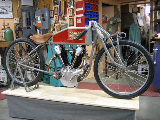 1919 Excelsior Mock-up Ready to Go!