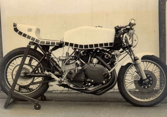 1950 Vincent restored by Paul Brodie