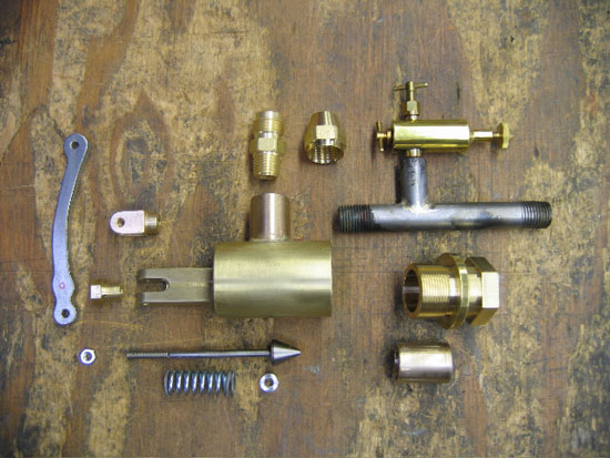 1896 Roper Steam Engine Throttle Valve