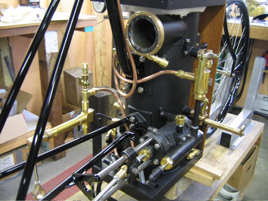 1896 Roper Steam Engine Steamer Assembly