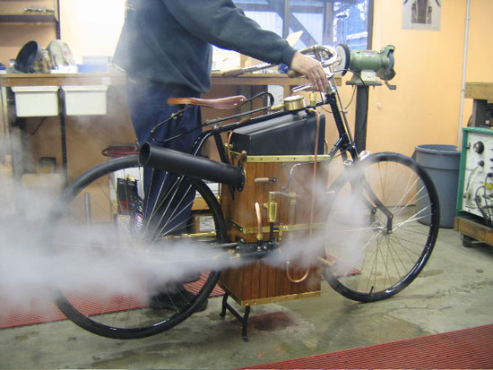 1896 Roper Steam Engine Fine Tuning