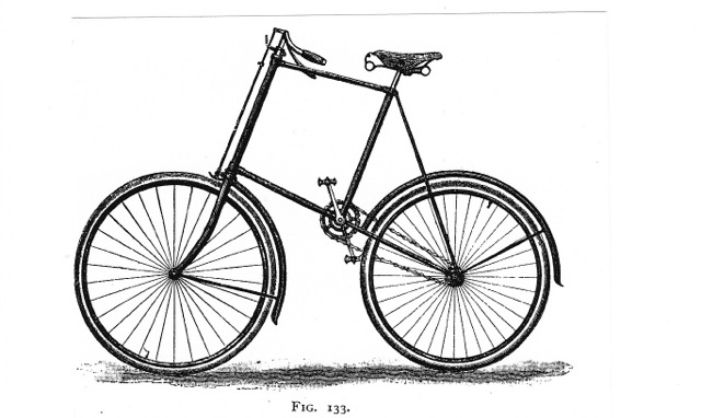 Paul Brodie NAHB 1894 Starley Giraffe Bike Replica