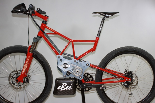eBee Electric bicycle by Paul Brodie, NAHBS 2013. UFV Frame Building School. Flashback Fabrications Ltd.