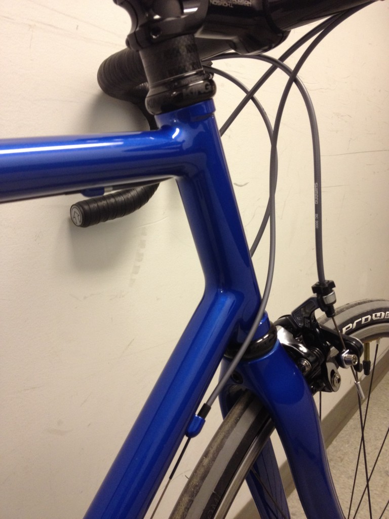 Student Custom Bike, Paul Brodie's Bike Frame Building 101, Flashback Fabrications