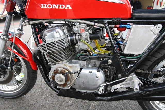 Shelton Race, John Nillson's Honda 750 by Paul Brodie, May 2014
