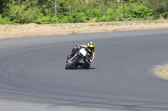 Paul Brodie's Ruby Racer at The Ridge, ridden by Mick Hart July 26, 2014