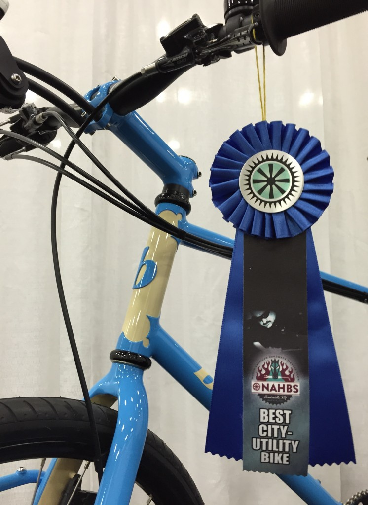 Brodie City Bike wins NAHBS. Paul Brodie, Flashback Fabrications 2015