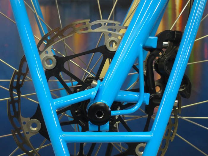 NAHB 2015 bike built by Paul Brodie, Flashback Fabrications, Bicycle Frame Building 101
