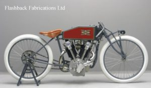1919 Excelsior boardtracker motorcycle Paul Brodie